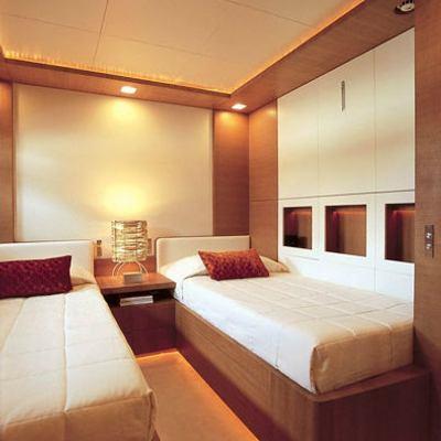 Kintaro Yacht Twin Stateroom