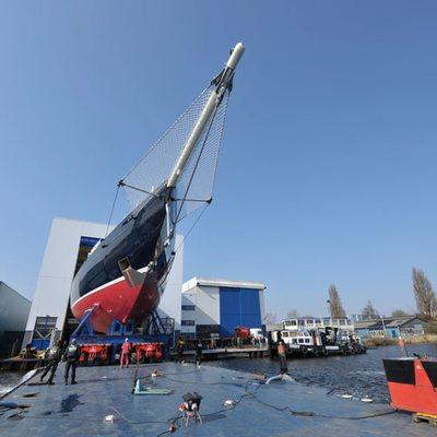Athos Yacht Yacht Launch