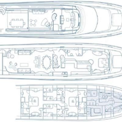 Let It Be Yacht Deck Plans