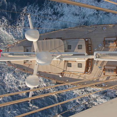 Athos Yacht Overhead