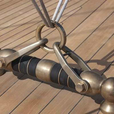 Atlantic Yacht Detail - Rigging