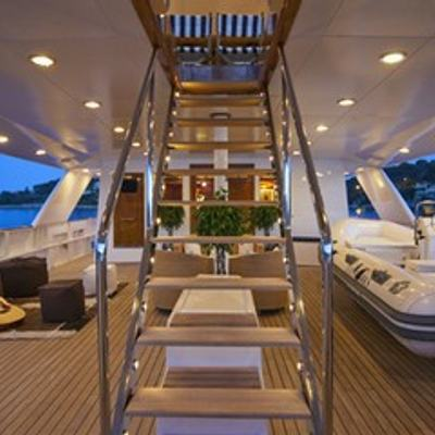 5 Fishes Yacht Exterior Staircase