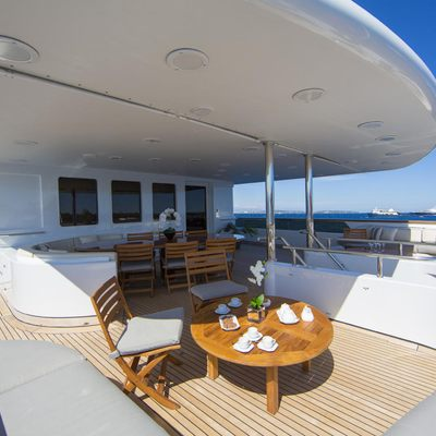 Lady Ellen II Yacht Upper Deck Aft - Seating
