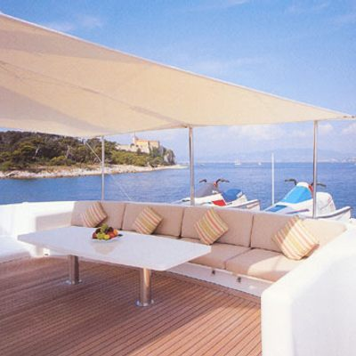 Lady Rose Yacht Sun deck seating