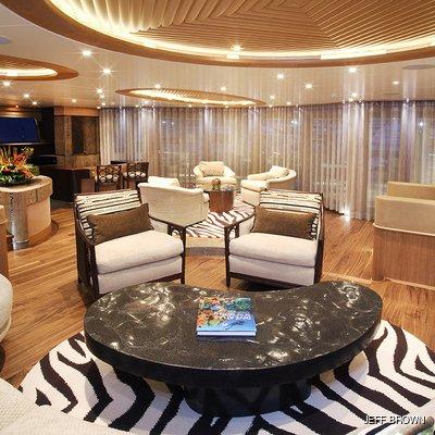 Hemisphere Yacht Salon Seating