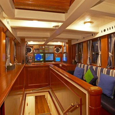 Germania Nova Yacht Wheelhouse