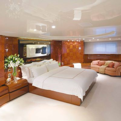 Bad Girl Yacht Master Stateroom