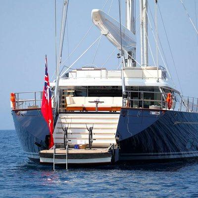 Prana Yacht Stern