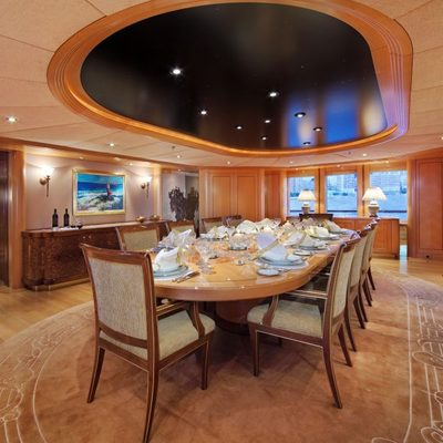 Laurel Yacht Formal Dining Area