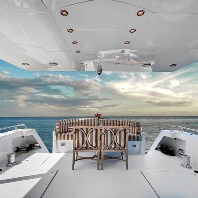Andiamo Yacht Deck View