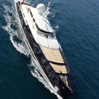 Galileo G Yacht Aerial View