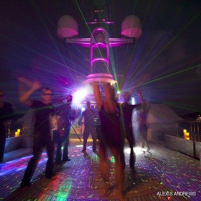 Calypso Yacht Dancing on Deck