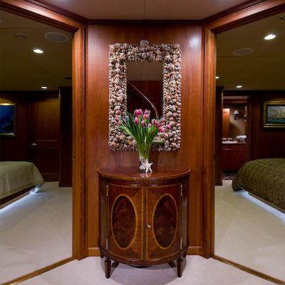 Sea Falcon II Yacht Guest Hallway