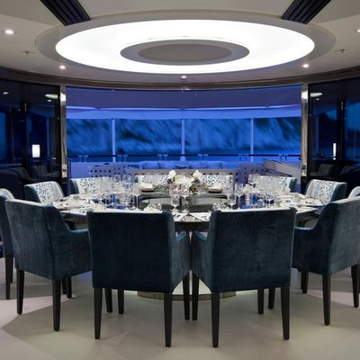 Quite Essential Yacht Dining Salon