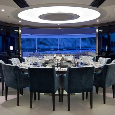 Quite Essential Yacht Dining Salon