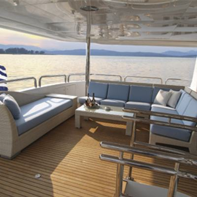 Inspiration Yacht Upper Deck