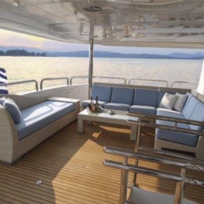 Inspiration Yacht Upper Deck