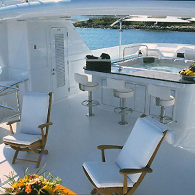 Milk and Honey Yacht Exterior Bar