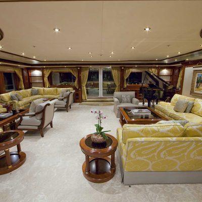 Titania Yacht Main Salon - Overview