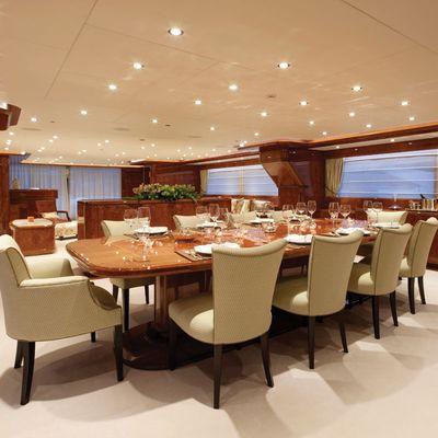 Baron Trenck Yacht Dining