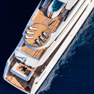 Suerte Yacht Helipad
