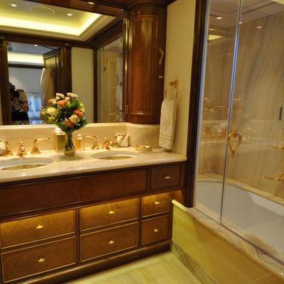 Lady Kathryn V Yacht Guest Bathroom