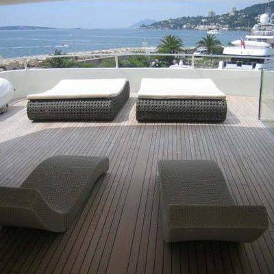 N.M.N Yacht Upper Deck - Loungers