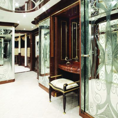 Diamonds Are Forever Yacht Master Stateroom Dressing Centre