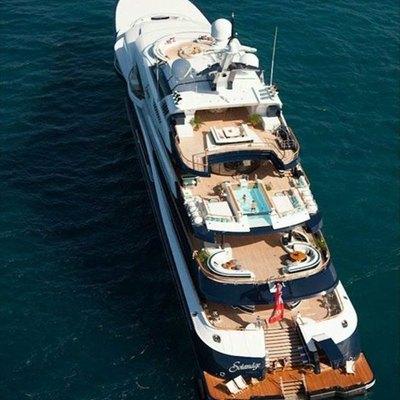 Solandge Yacht Aerial