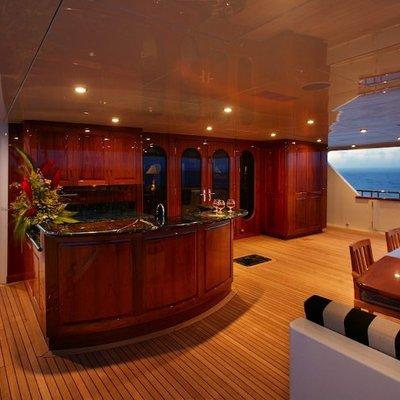 Top Five Yacht Exterior Bar