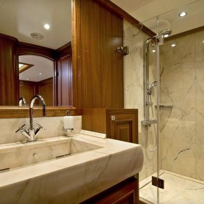 Clear Eyes Yacht Bathroom