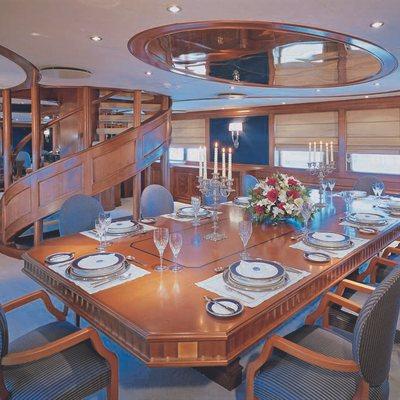 Insignia Yacht Dining Salon
