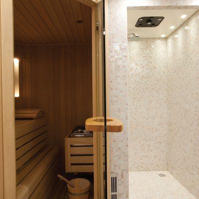 Baron Trenck Yacht Spa cabin: sauna/steam room