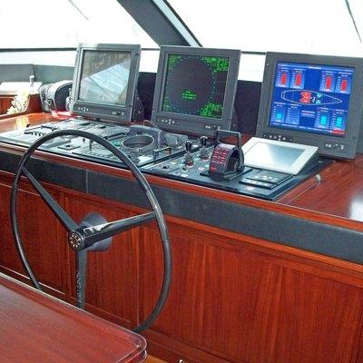 Blush Yacht Bridge