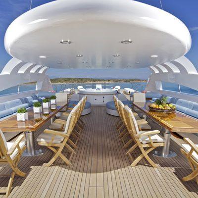 Mia Rama Yacht Sundeck - Covered