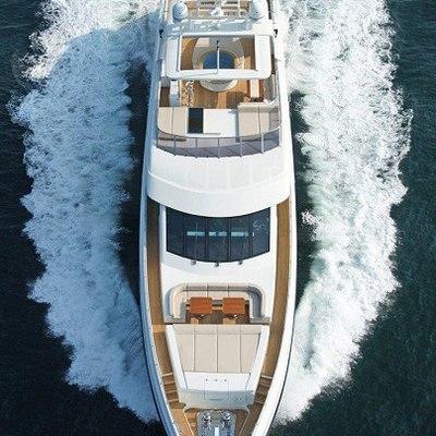 Tatiana Yacht Overhead - Running
