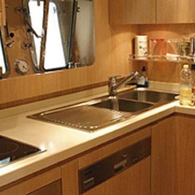 Best Mountain Yacht Kitchen