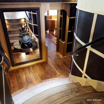 Hemisphere Yacht Stairway
