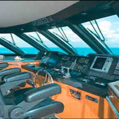 Murphy's Law Yacht Pilothouse