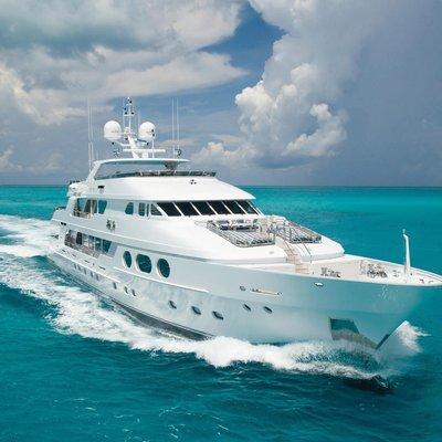 Lady Joy Yacht Running Shot - Front View