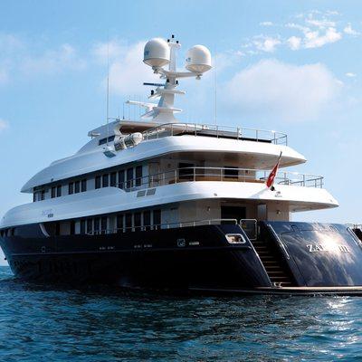 Zaliv III Yacht Rear View