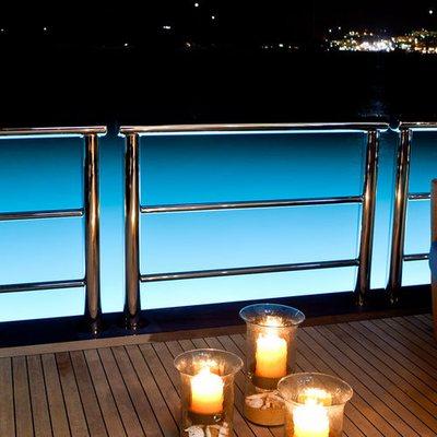 Aquila Yacht Swim Deck View
