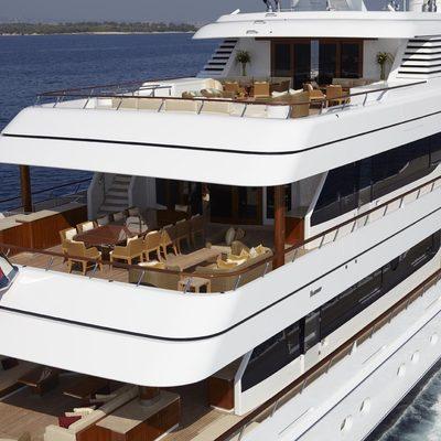Lady Britt Yacht Aft Deck