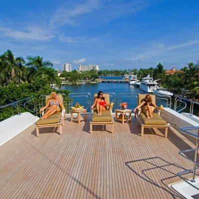 Far From It Yacht Sundeck