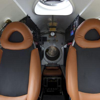 Naia Yacht Submarine Cockpit