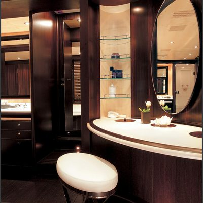 Parsifal III Yacht Private Bathroom
