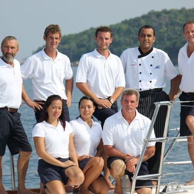 Douce France Yacht Crew