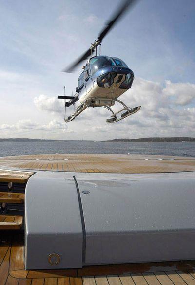 Siren Helicopter Landing