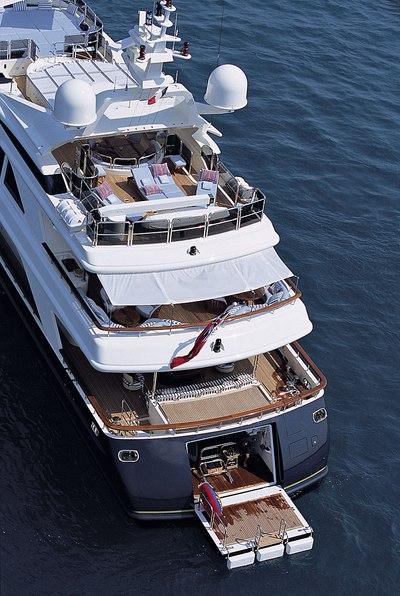 Jo Yacht Aft Decks
