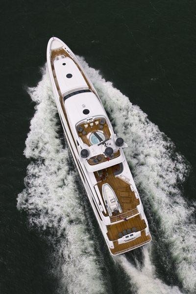 Usher Yacht Overhead